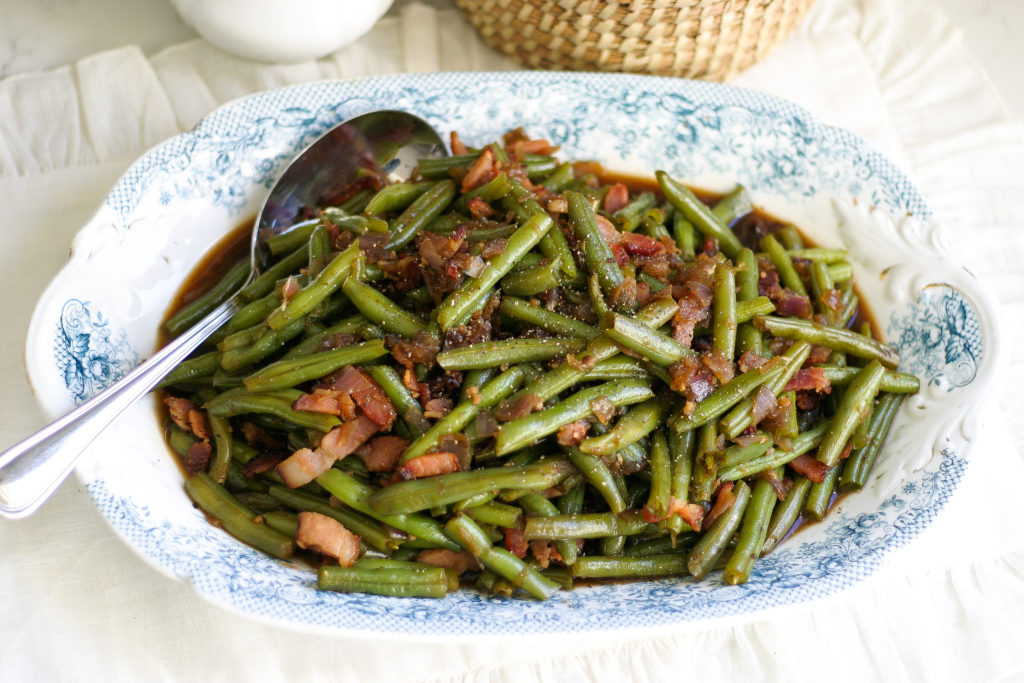instant pot bacon green beans