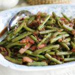 instant pot bacon green beans