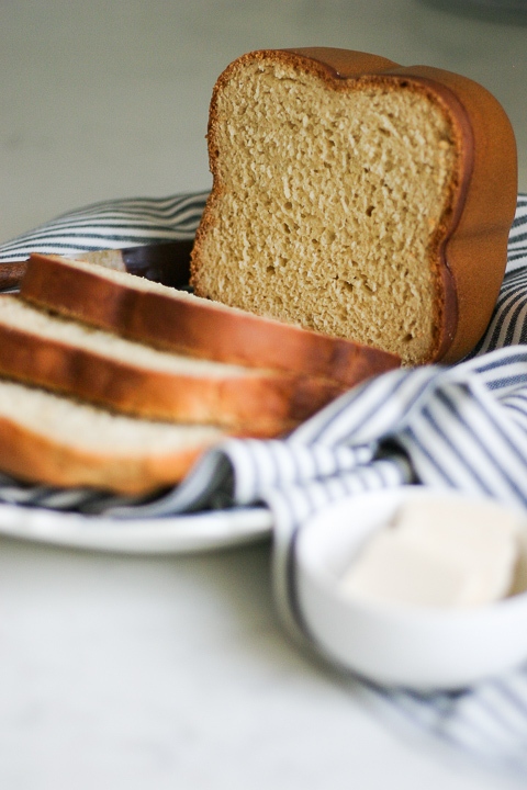 Bread machine gluten free bread