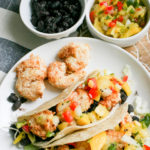 Air Fryer Spicy Coconut Shrimp Tacos