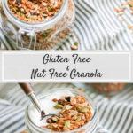 Gluten and Nut Free Granola