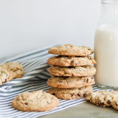 Gluten Free Dairy Free Chocolate Chip Cookies