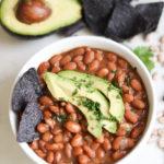 Instant Pot Pinto Beans Cafe Rio_Costa Vida Style