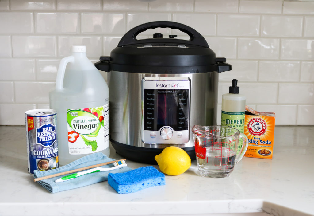 Instant Pot cleaning supplies