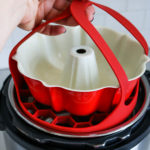 Instant Pot 6QT with silicone sling and bundt pan
