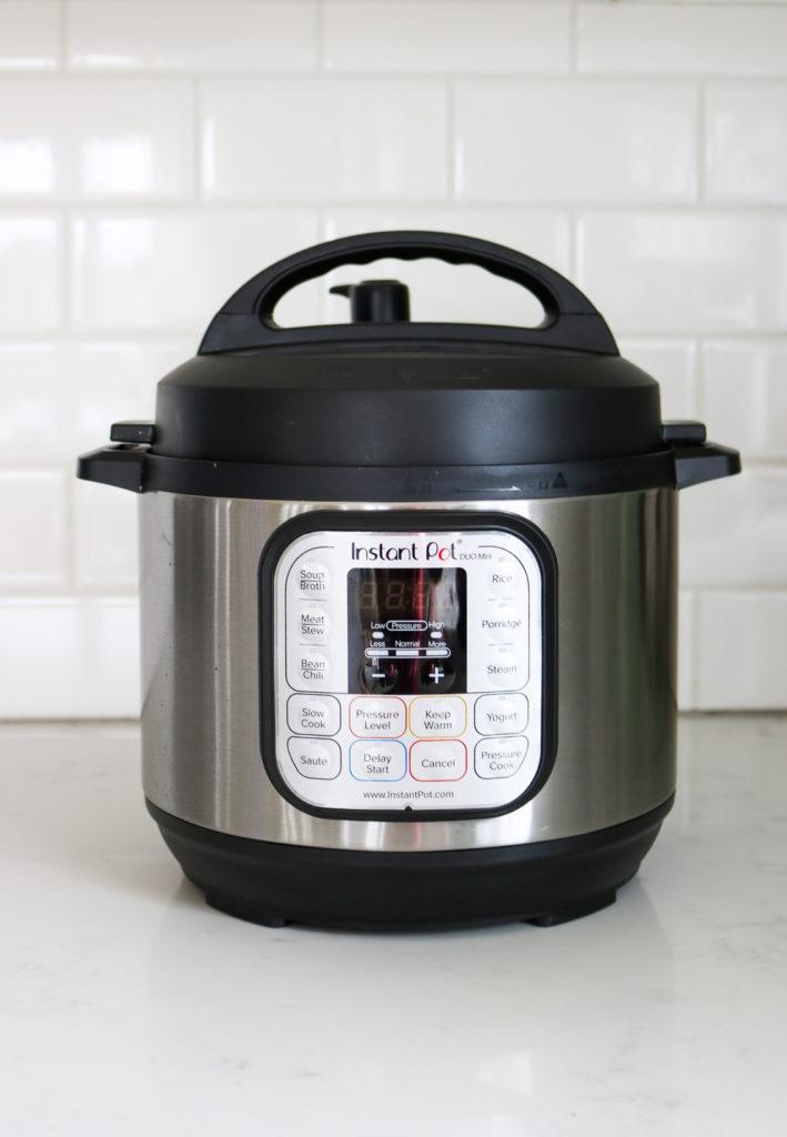 Instant Pot Mini 3qt on a counter