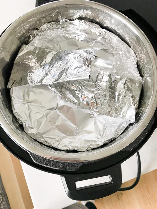 Foil Sling in Instant Pot