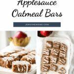 gluten free applesauce oatmeal bars