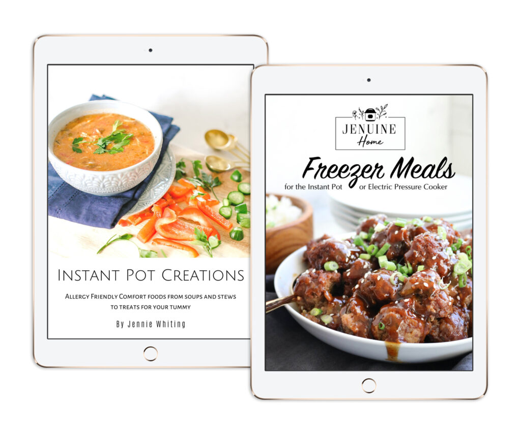 2 ipads with Instant Pot eBooks
