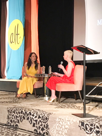Joanna Gaines at Alt Summit Gabbrielle Blaire